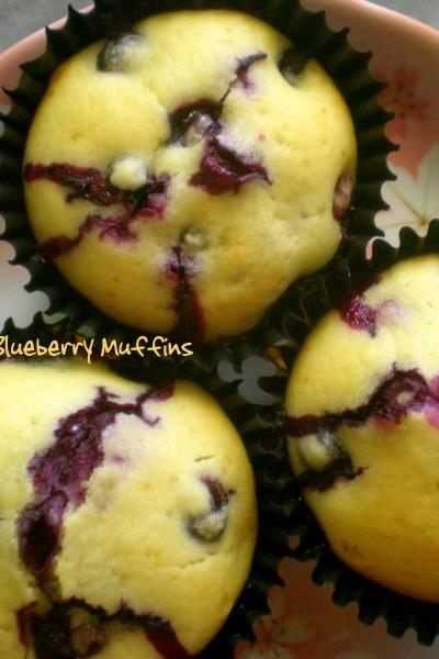 Bona Fide Blueberry Muffins