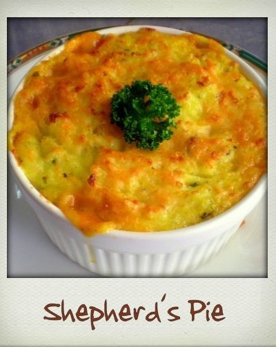 Shepherd's Pie….from a touch of nostalgia