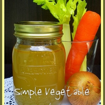 Simple Vegetable Stock