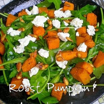 Ballads of Salads! – Roast Pumpkin & Arugula
