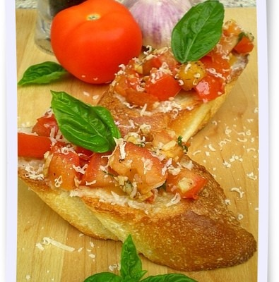 Tomato Bruschetta – Back 2 Back