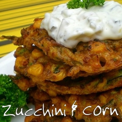 Zucchini & Corn Fritters – Back 2 Back