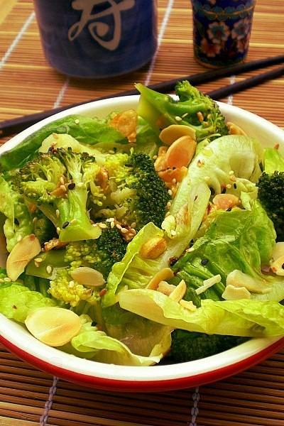 Eat More Vege – Asian Inspired Broccoli & Romaine Salad