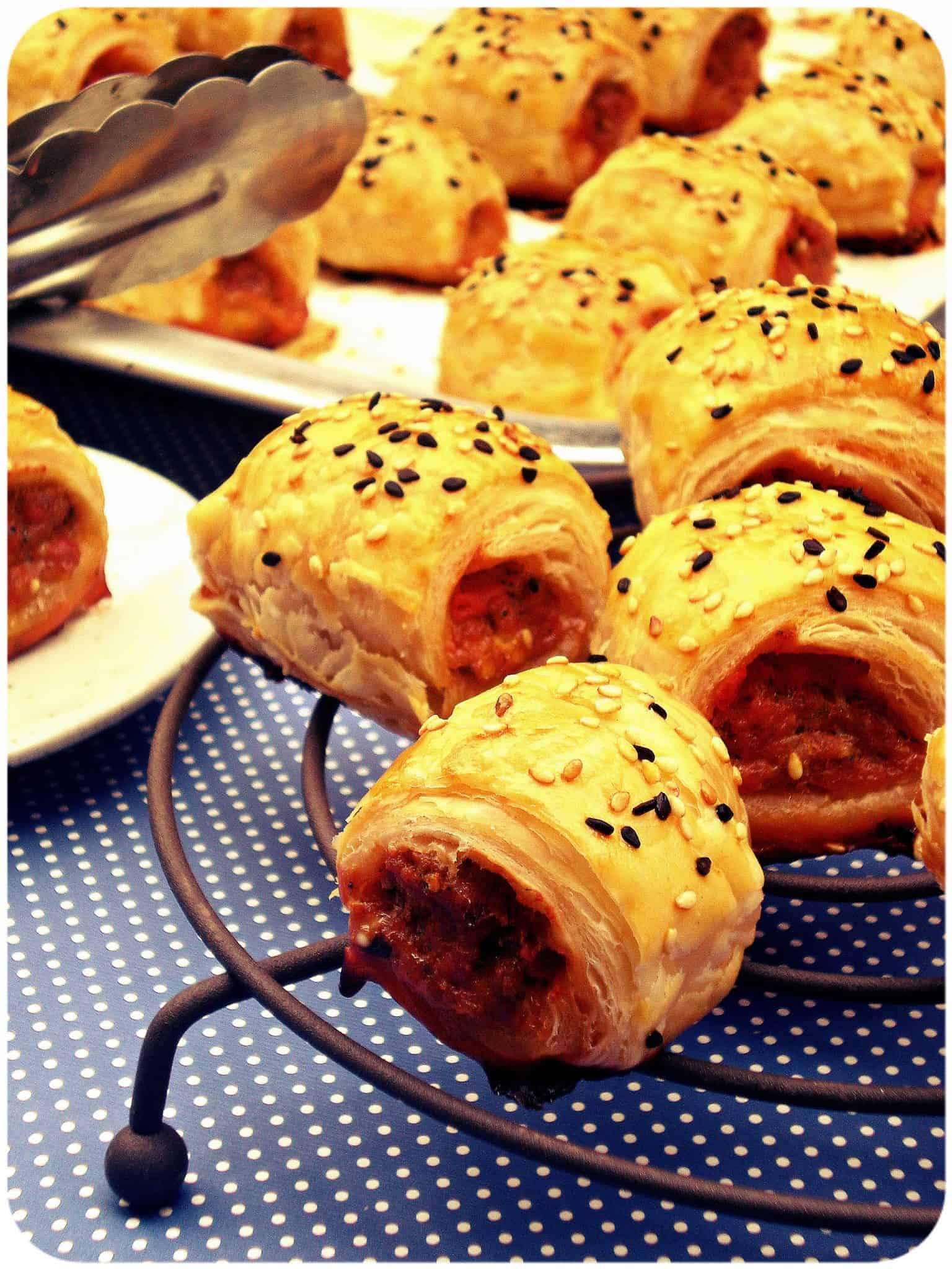 Puff Pastry – Mini Sausage Rolls