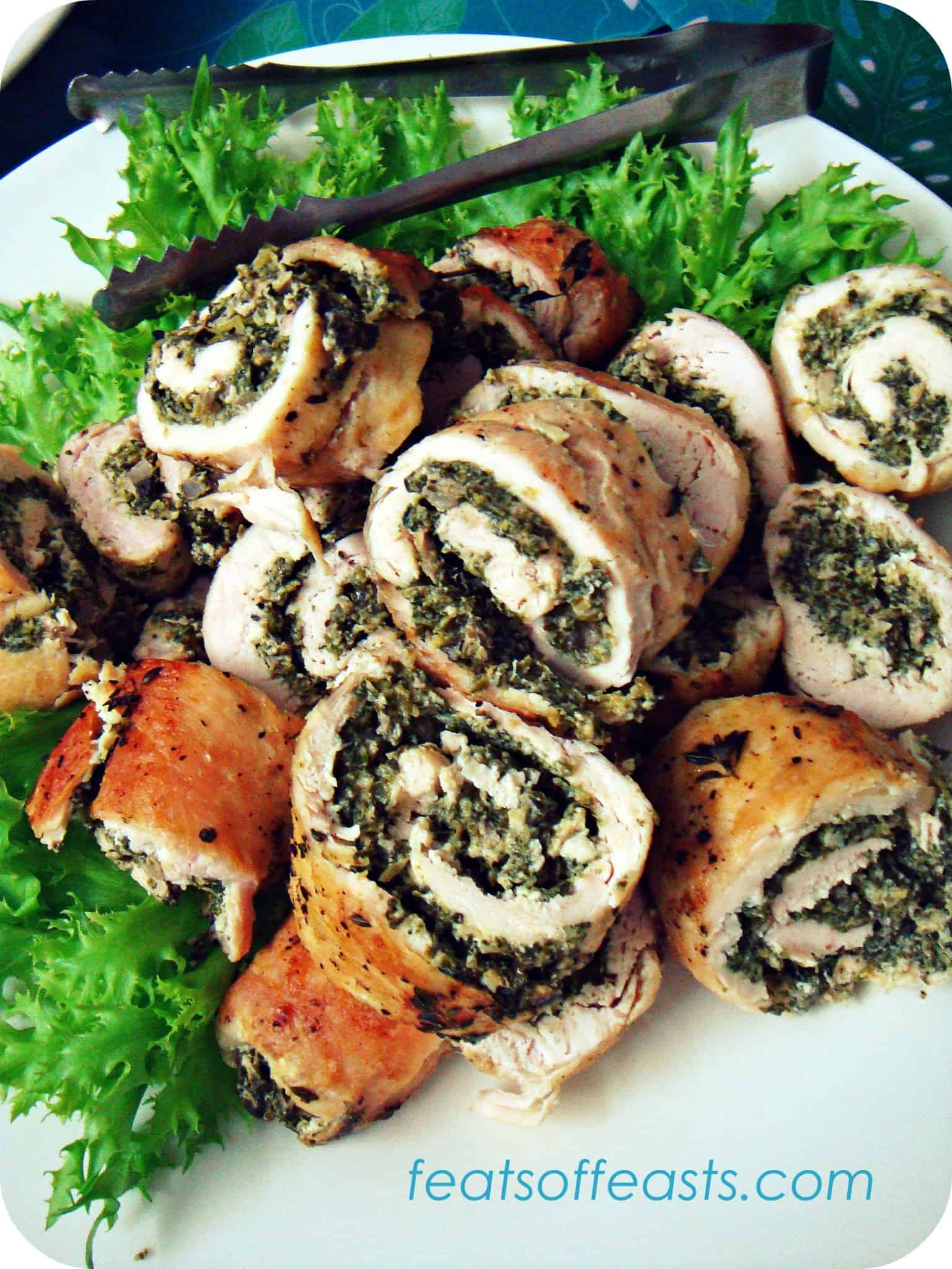 A long, overdued meet and Chicken Roulade