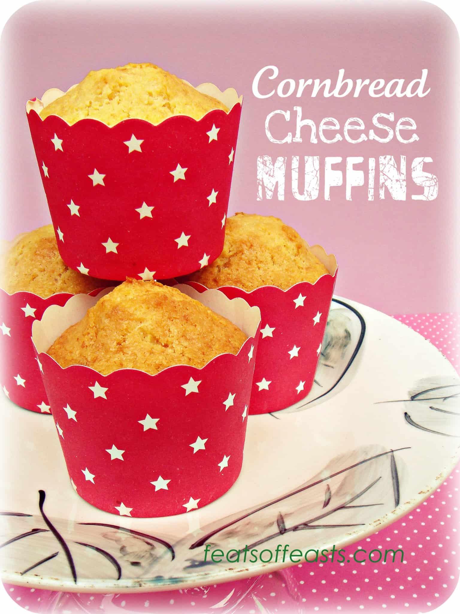 Cornbread Cheese Muffins