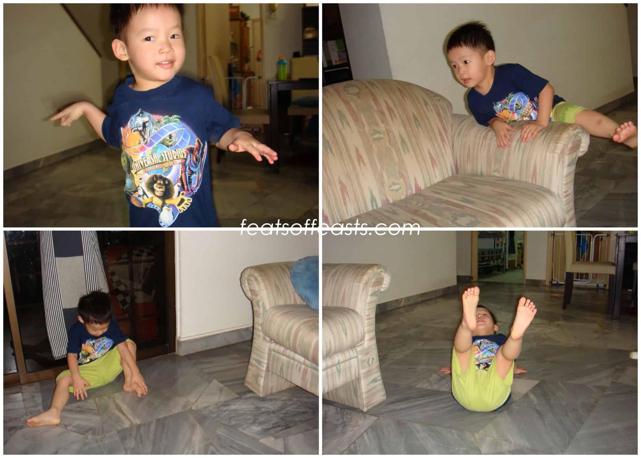 My Little man is 3…..