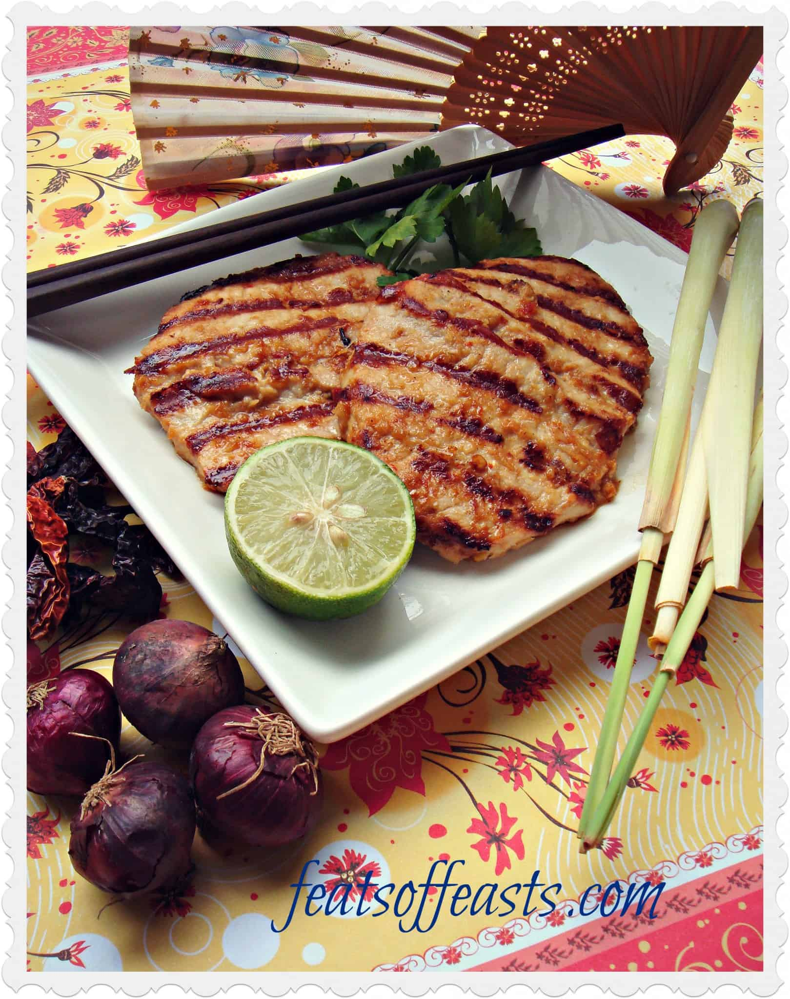 Lemongrass Grilled Pork Loins – Back 2 Back