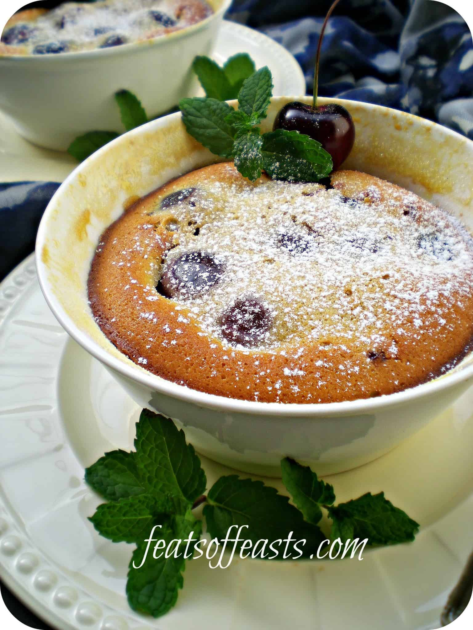 Cherry Clafoutis and Pregger Updates….
