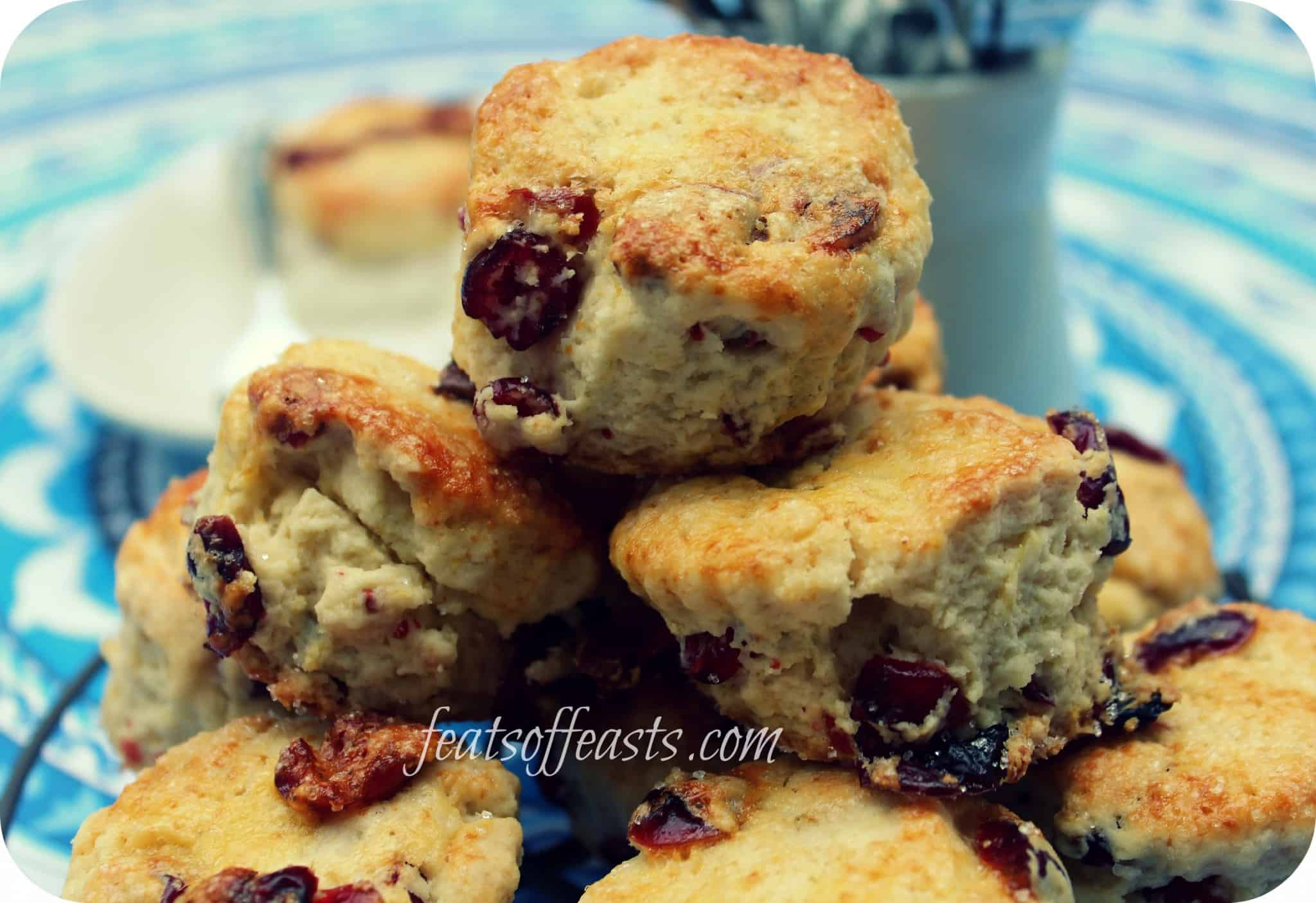 March 2013; Scones Month – Cranberry and Lemon Scones