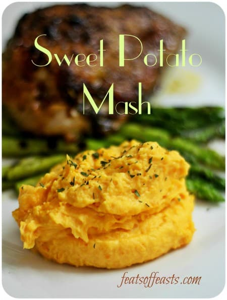 sweet potato mash 1w