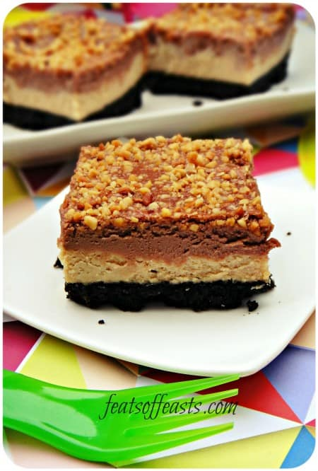 peanut butter nutella cheesecake