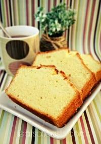 vanilla pound cake 2w
