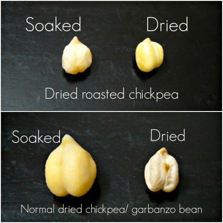 chickpea differences
