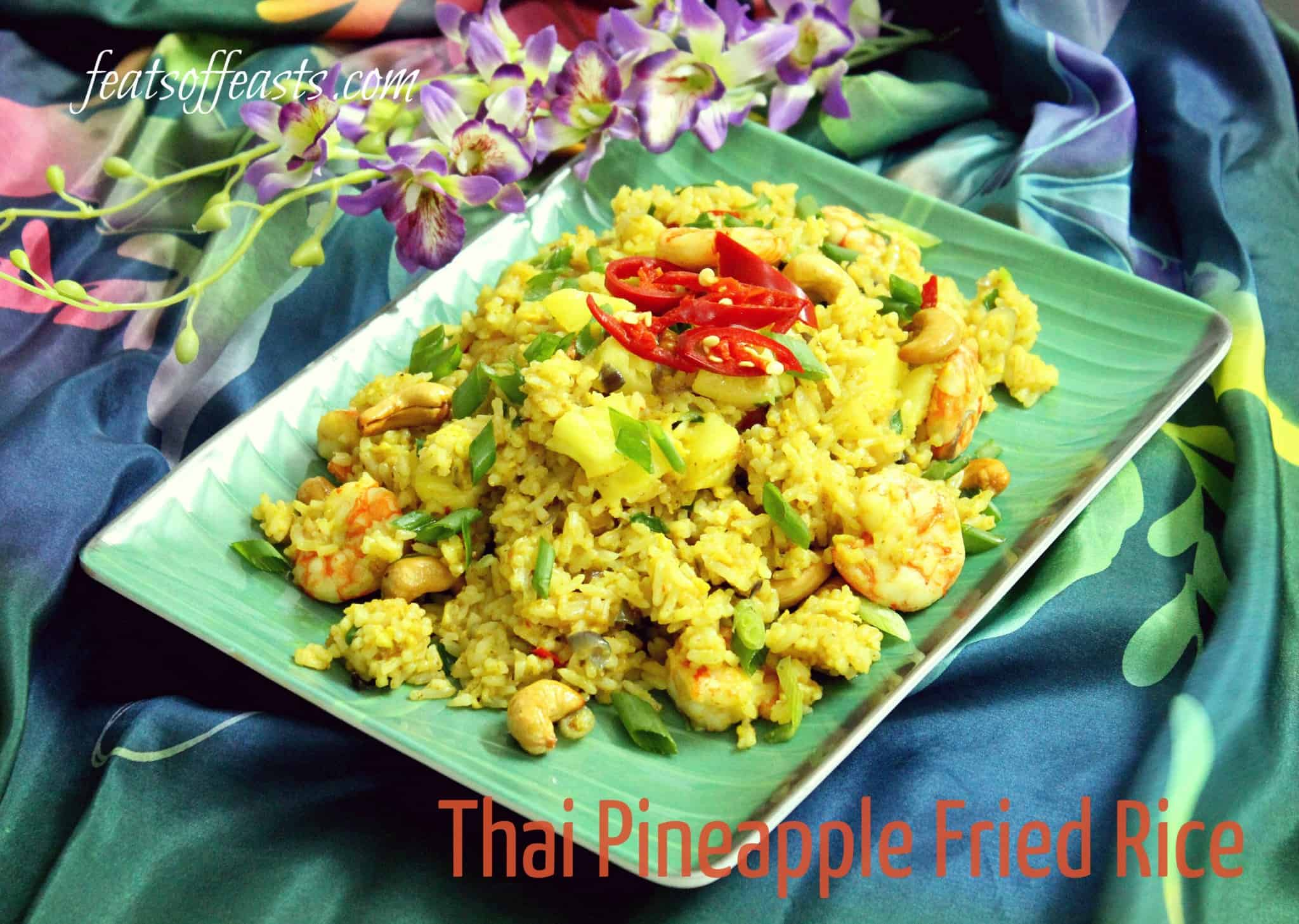 AFF Thailand – Thai Pineapple Fried Rice