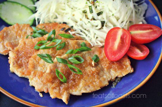 pork shogayaki
